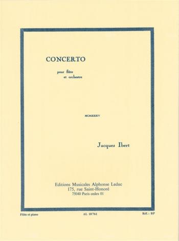 Concerto: Flute & Piano (Leduc)