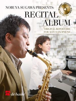 Recital Album: Alto Saxophone: Book & CD