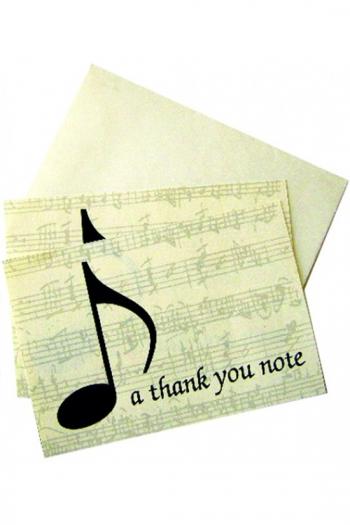 Thank You Notecards & Envelopes (Box Of 10)