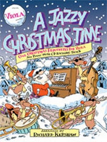 Jazzy Christmas Time A: Viola: Bk&cd