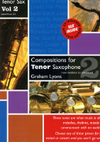 Compositions For Tenor Saxophone: Vol,2