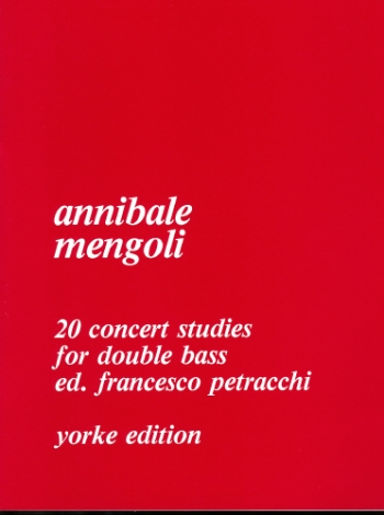 20 Concert Studies: Double Bass
