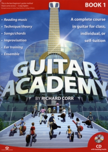 Guitar Academy: Book 1 Book & Cd