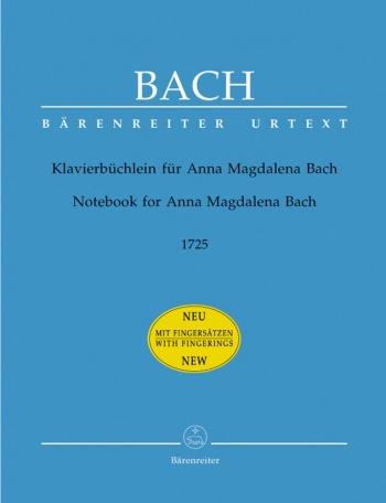 Notebook For Anna Magdalena 1772: Piano (Barenreiter)