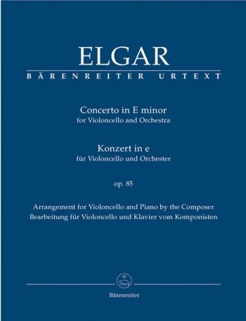 Cello Concerto: E Minor: Op85: Cello & Piano (Barenreiter)