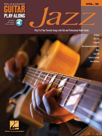 Guitar Playalong Series: Vol 16: Jazz