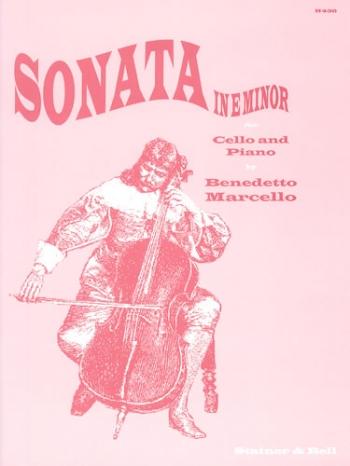 Sonata: E Minor: Cello & Piano  (Stainer & Bell)