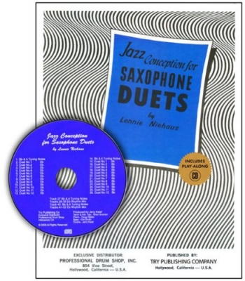Jazz Conceptions For Saxophone Duet: Alto Saxophone