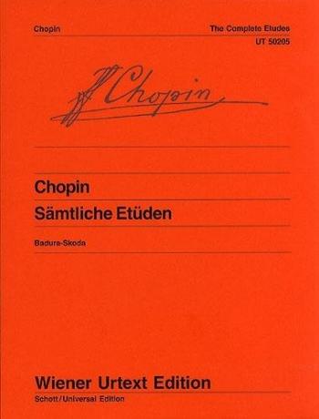 Etudes Complete Op.10 & Op.25: Piano  (Wiener Urtext)