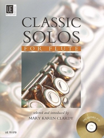 Classic Solos For Flute: Book & CD
