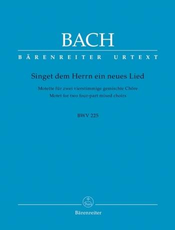 Singet Dem Herrn: Bwv 225: Vocal Score: Satb