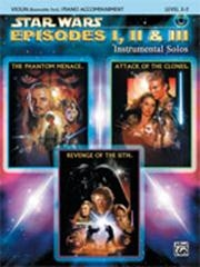 Star Wars Episodes: Selections From 1 2 And 3: Violin: Book & CD