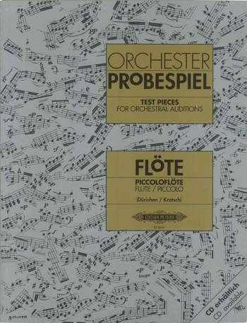 Test Pieces For Orchestral Auditions Flute (Orchester Probespiel)