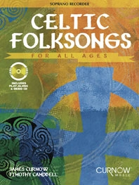 Celtic Folksongs: Descant Recorder: Book & Cd