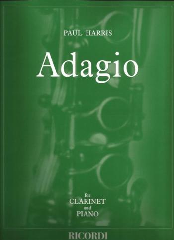 Adagio For Clarinet And Piano (Ricordi)