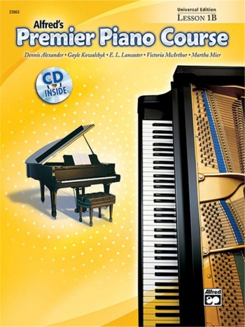 Alfred Premier Piano Course 1b: Lesson Book: Book & Cd
