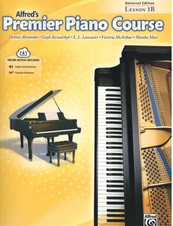 Alfred's  Premier Piano Course 1b: Lesson Book: Book & Cd