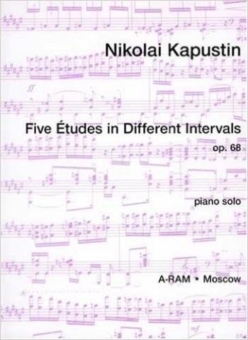 5 Etudes In Different Intervals.- Op.68: Piano