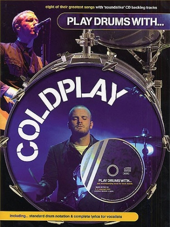 Play Drums With Coldplay: Bk&cd