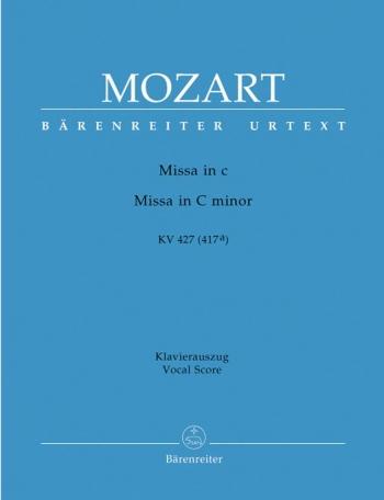 Mass C Minor: K427(417A): Vocal Score (Barenreiter)