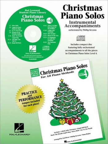 Hal Leonard Student Piano Library: Christmas Piano Solos: Level 4 CD