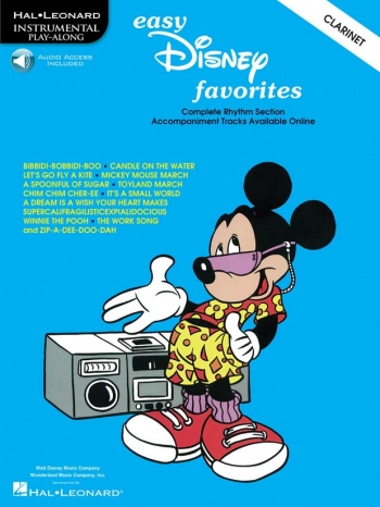 Easy Disney Favourites: Clarinet: Book & CD