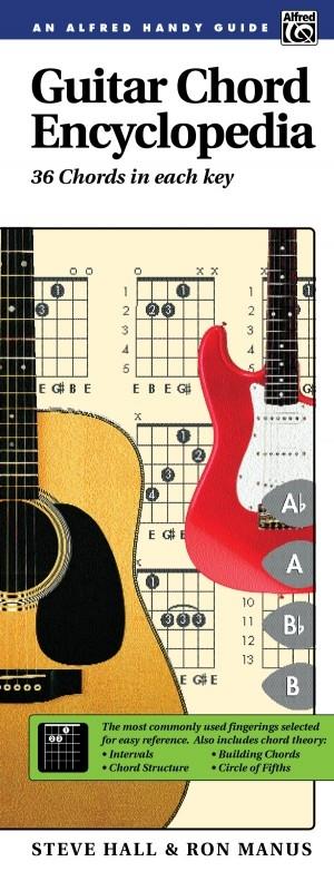 Alfreds Handy Guide: Guitar Chords Encylopedia