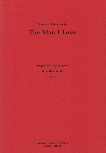 He Man I Love: Clarinet Quartet: 3Bb Clarinets and Bass Clarinet
