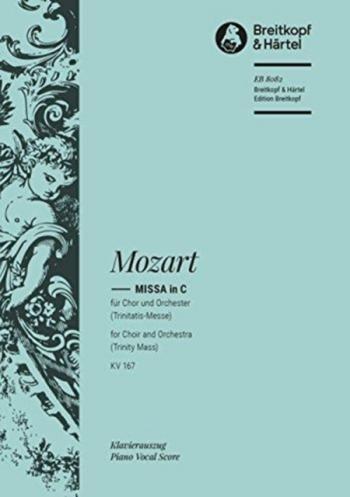Missa In C: Kv167: Vocal Score (Breitkopf)