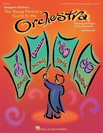 Young Persons Guide To The Orchestra: Activity Book and Cd