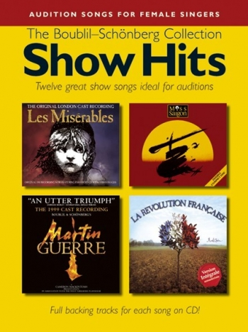 Audition Songs: Female: Boublil and Schonberg: Book & Cd