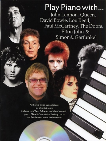 Play Piano With Lennon, Queen, Bowie Etc. - Bk&cd
