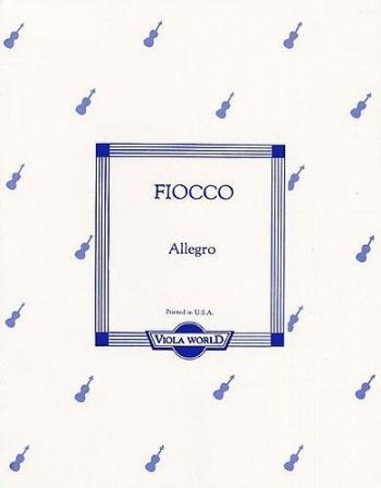 Allegro: Viola and Piano (Viola World)