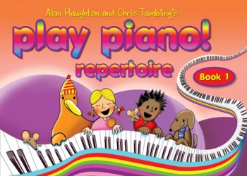 Play Piano Book 1 Repertoire: Book Only