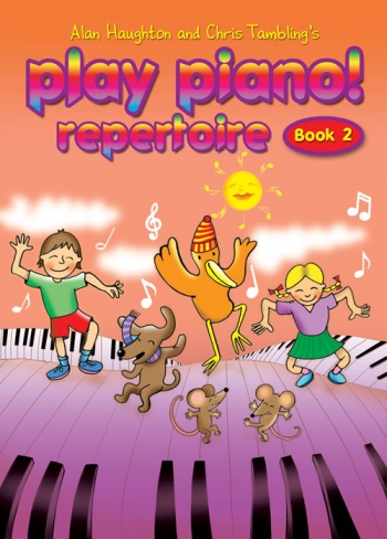 Play Piano Book 2 Repertoire: Book Only