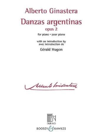 Dances Argentinas Op.2: Piano (Durand)