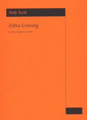 Zebra Crossing: Tenor Saxophone & Piano (Astute)