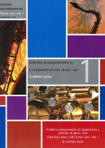 Compositions For Tenor  Saxophon: Book 1: Piano Accompaniment