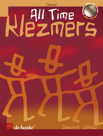 All Time Klezmers: Clarinet: Book & CD