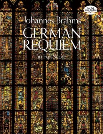 German Requiem: Ein Deutsches Requiem: Vocal Score (Dover)