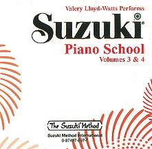 Suzuki Piano School Vol.3&4: Cd Only