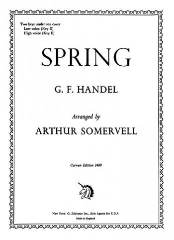 Spring (D+E) Voice/Piano