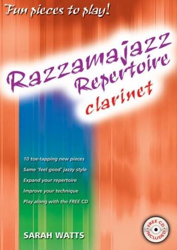 Razzamajazz Repertoire Clarinet: Book & CD