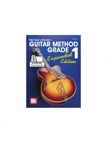 Mel Bays Modern Guitar Method 1: Expanded Edition Online Audio & Video
