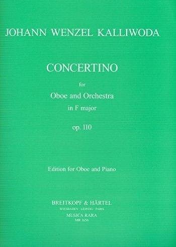 Concertino F: Op110 Oboe & Piano (Breitkopf)