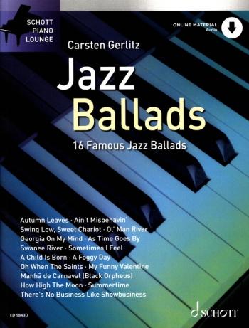 Jazz Ballads: Book and Cd: Piano