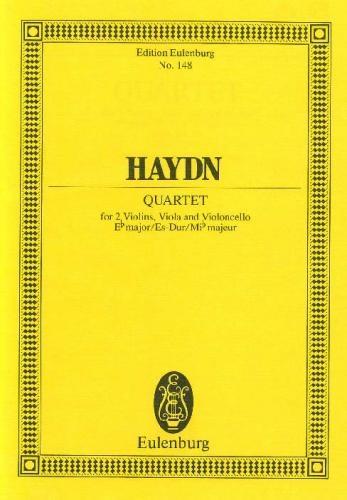 String Quartet: Ebmajor: Op71 No 3: Miniature Score