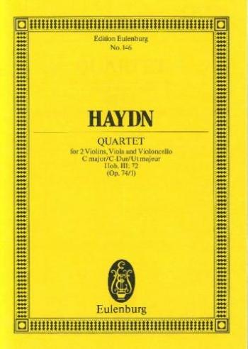 String Quartet: Cmajor: Op74 No 1: Miniature Score