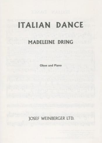 Italian Dance: Oboe & Piano