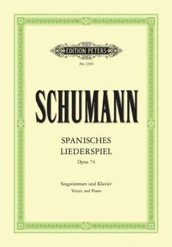 Spanisches Liederspiel: Op74 1,2&4 Voices & Piano (Peters)